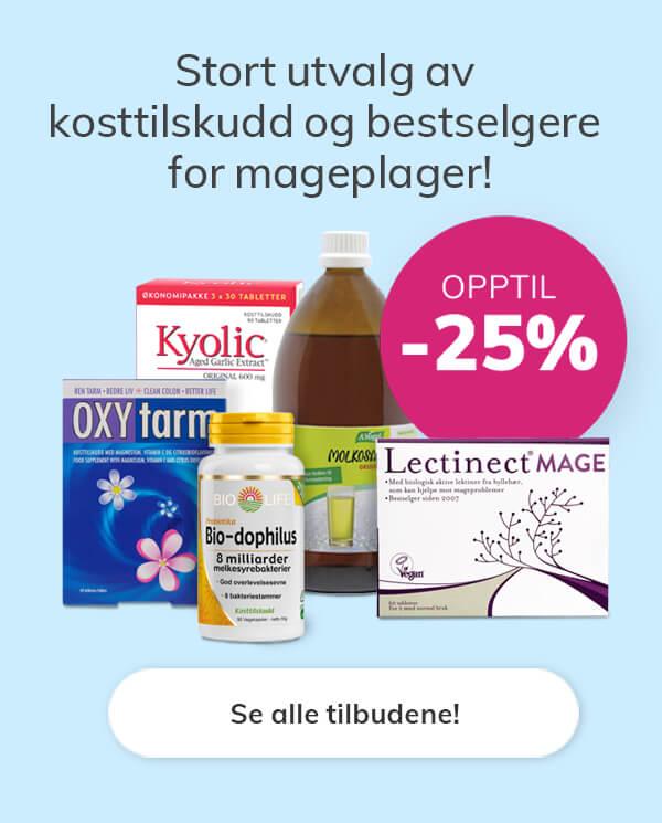 helsekost nettbutikk tilbud