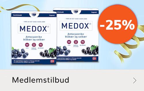 Medox - mage tilbud kostilskudd Sunkost