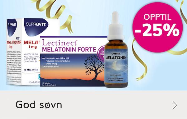 Tilbud på Melatonin - bedre søvn