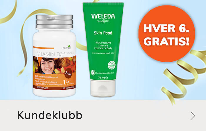 Hver 6. gratis tilbud - D-vitamin